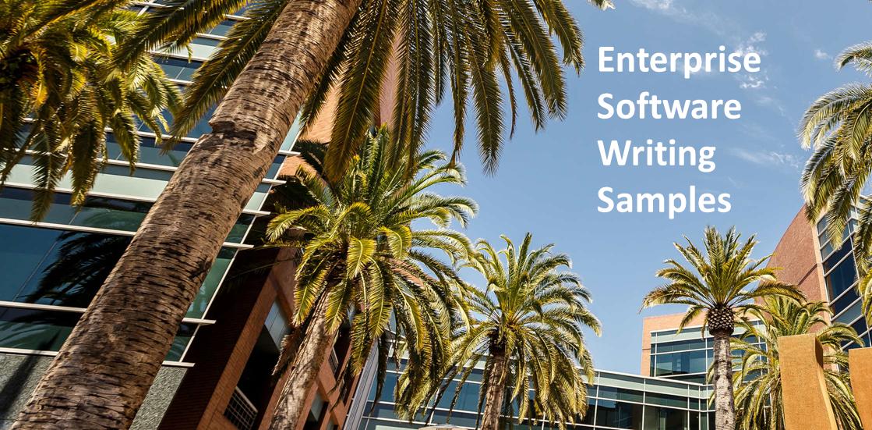 Enterprise Software Writing Samples