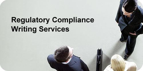 Regulatory Compliance Writing Samples